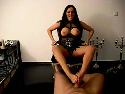 4 min - My super boobed wonderful brunette mom gives really nice footjob
