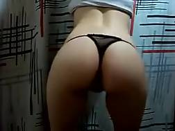 3 min - My tempting girlie wanna brag of her wonderful rounded big assed