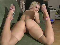 3 min - Spectacular big assed show from white and sexual German chick