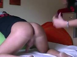 7 min - Homemade vid with my wife licking my backside and stroking my prick