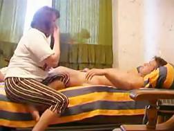 20 min - Chubby neighbour blow job my schlong and takes a ride on it