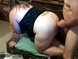 3 min - My bbw boyfriend blowjob my weiner and enjoys it hard from behind