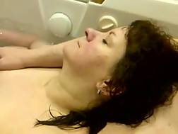 2 min - My curvy mature wife lets me play with her knockers in jacuzzi