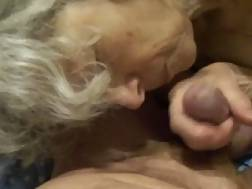 3 min - Astounding movie with my old wife working on my penis