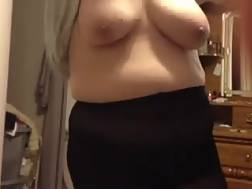 2 min - My chunky wife has a cool set of big breasts and she is damn proud of them