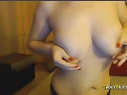 8 min - Huge Natural knockers In sexual underwear
