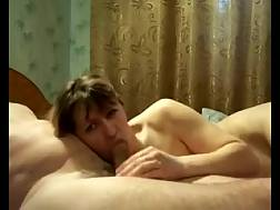 9 min - This lascivious prostitute treats my juicy penis like its gold