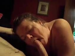 6 min - Chubby grandmother is impressed by my huge pretty pecker
