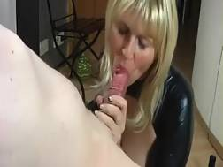 6 min - Breath-taking POV sucks from a horny amateur mother