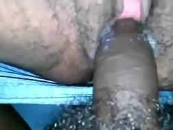 2 min - Close-up POV with me pounding my black wifes twat