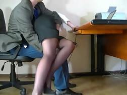 2 min - Humble secretary lets me stroke her nicely shaped ass