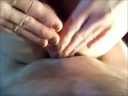 7 min - My horny wife shows her bald vagina to me and lets me smash it