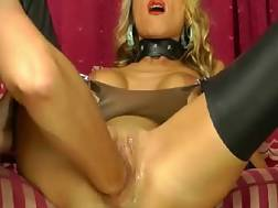 4 min - Blonde mom model gets fisted hardcore on the couch