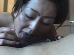 7 min - Asian mamma girlfriend takes a mouthful of sperm after blowjob
