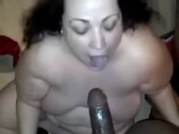 2 min - Obsese hooker is sucking my black dick like theres no tomorrow