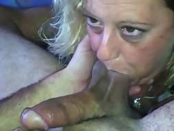 2 min - Old white blondie wifey is magnificent in prick sucking