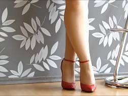 2 min - My lascivious wife knows about my high heels fetish
