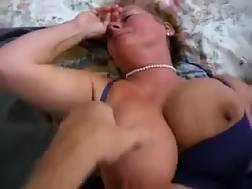 2 min - Busty white grandmother is addicted to porn even at her age