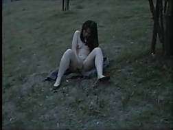 7 min - I am one of those gals who likes wanking outdoors