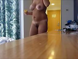 2 min - Majestic huge natural knockers of my sexy white mamma wifey