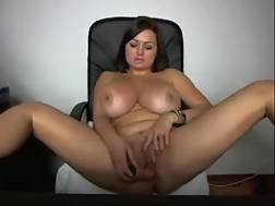 11 min - I love fondling my huge boobies & I love playing with my fucktoy