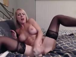 8 min - Pounding my vagina & anus with dildos livecam solo episode