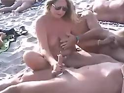 8 min - Just a sweet nudist beach compilation of horny couples