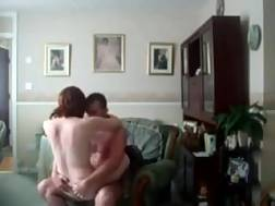 4 min - My redhead wife licks my cock after I penetrate her pussy deep & hard