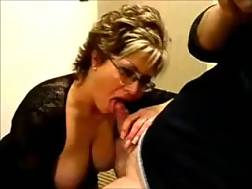 11 min - Blonde mother admires me with her BJ skills in homemade clip