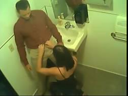 6 min - Heidi giving a head in the bathroom