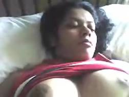 3 min - My boobed Indian wife enjoys to play with her assets