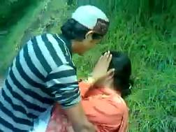2 min - Lustful Paki MILF gets drilled by my man in the forest