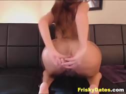 11 min - Hot boobed redhead Hard dildo Masturbation