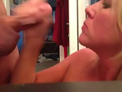 3 min - Amateur sexual blondie wife wants to show off with cum on her face