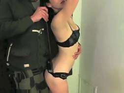 12 min - Maid gets bound up and mouth drilled