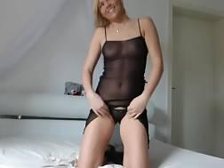 Hardcore chubby blonde