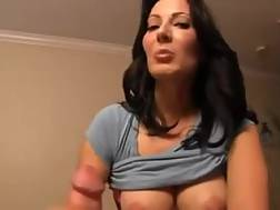 5 min - Majestic hands of my boobed mother drill friend playing role