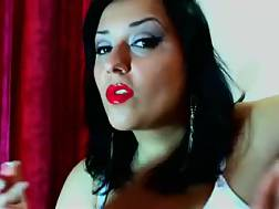 8 min - Anyone eager to watch a smoking mother model on web cam