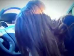 11 min - My divine lover shows her melons to me in a car and gives me a blow job