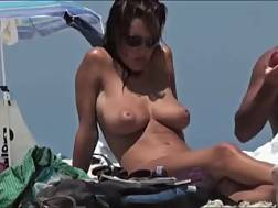 3 min - Mom with ideal natural jugs gets caught on my cam on nude beach