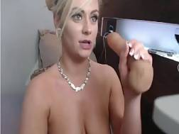 7 min - Pretty light haired stuffs her tight pussy with a huge fat fucktoy