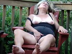 3 min - So sexual mature blondie wifey is taken outdoors in house by lusty husband,enjoy