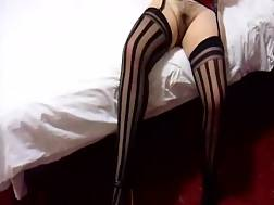 3 min - Sexual stockings & a unshaved pussy