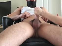 9 min - Mother stroking big dick