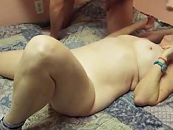 12 min - Chubby wife meets her old friend and penetrate him