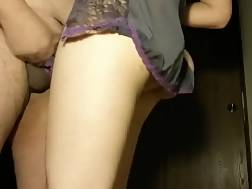 8 min - Fuckin my pregnant wife in her lingerie