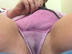 8 min - They call me Sally squirt soaked panties