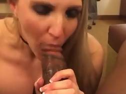 8 min - Gorgeous wife deepthroating on BBC