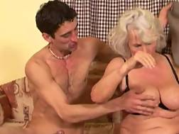 14 min - Grandma is still quite a skilled penis pleaser