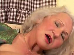 14 min - Grandma is still quite a skilled penis pleaser